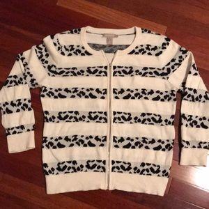 Front zipper sweater